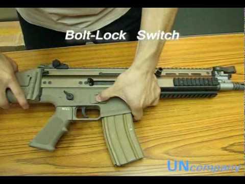 WE SCAR-L CQC Gas Blowback Rifle