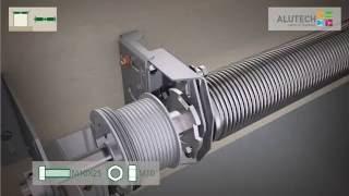 Стандартный монтаж ворот  с калиткой