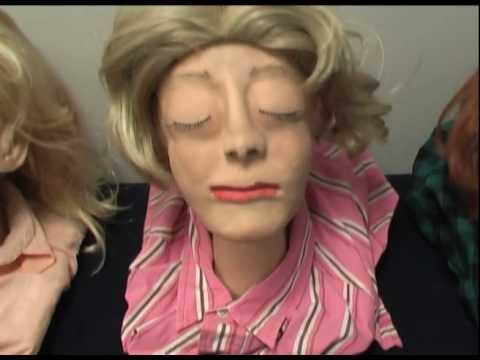 Mortuary Science Wax Head Reconstruction Project  YouTube