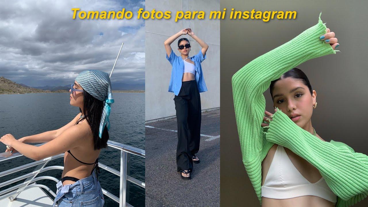 Tomando fotos para mi instagram + cómo edito mis fotos