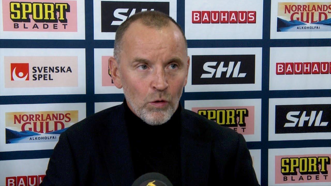 Presskonferens: Luleå - Linköping (11/9)