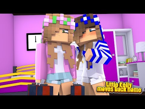 LITTLE KELLY MOVES BACK INTO THE MAGICAL KINGDOM! w/Little Carly (Minecraft Roleplay).
