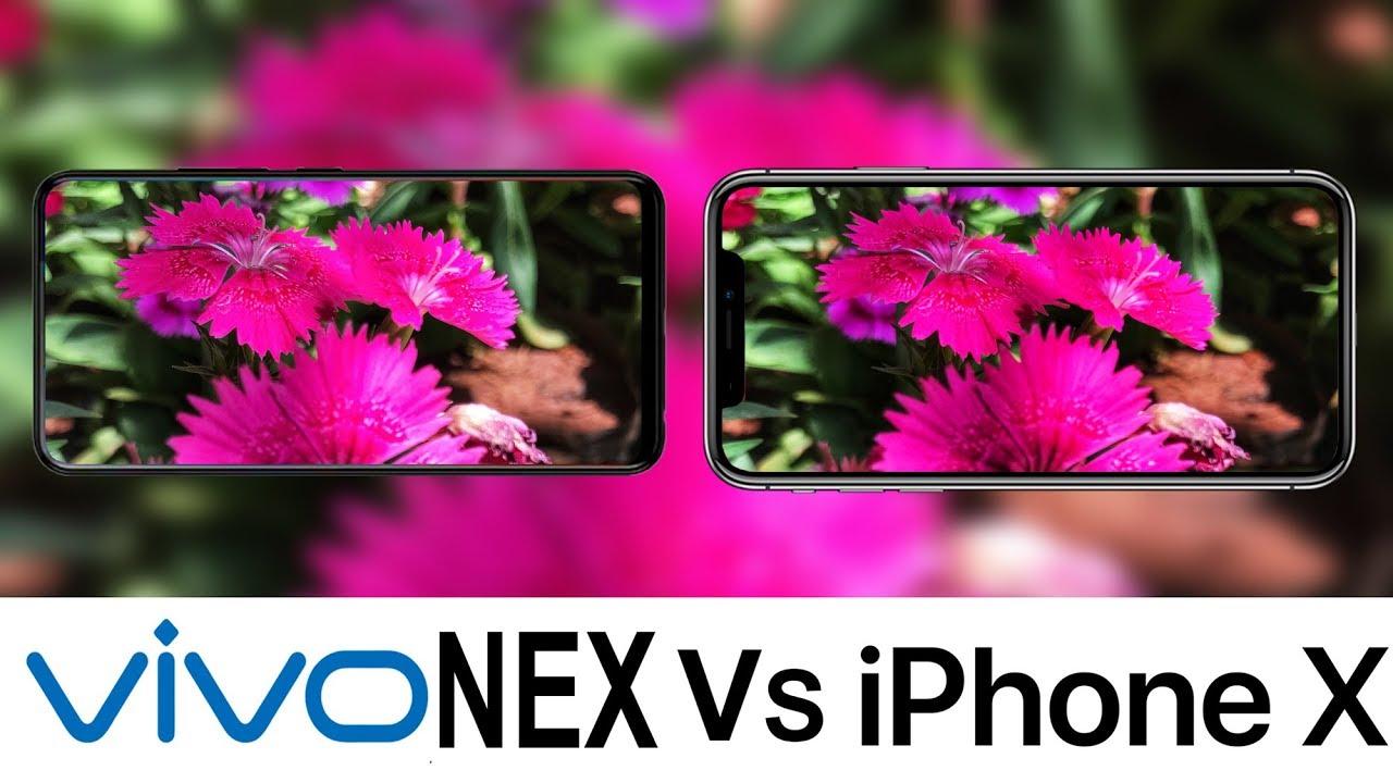 Vivo NEX vs iPhone X camera comparison [video]{newsTitoloPageAppend