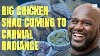 Shaq's Big Chicken Shaq to Debut on Carnival Radiance