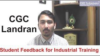 PHP Training | CGC Landran | Student Feedback | Devasheesh
