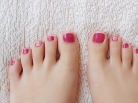 【ネイル】今年夏のサンダルに合う「フットネイル」♡~Perfect foot nail in the summer of sandals.
