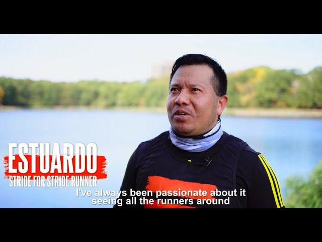 Estuardo's Dream is to Run the Boston Marathon