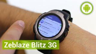 Zeblaze Blitz 3G, recensione in italiano