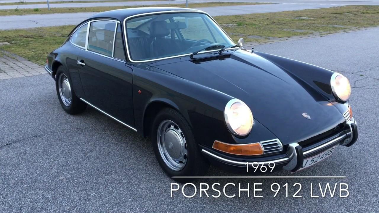 1969 porsche 912 lwb 360 walk around engine video. Black Bedroom Furniture Sets. Home Design Ideas