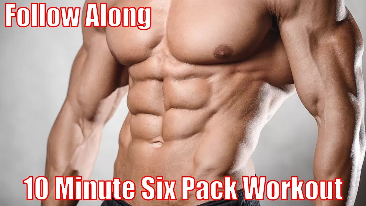 Home Workout For 6 Pack Abs   Men & Women