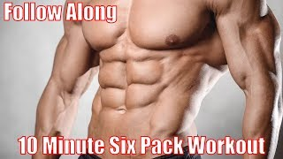 Home Abs Workout | 10 Minutes Six Pack Abs Workout | Men & Women