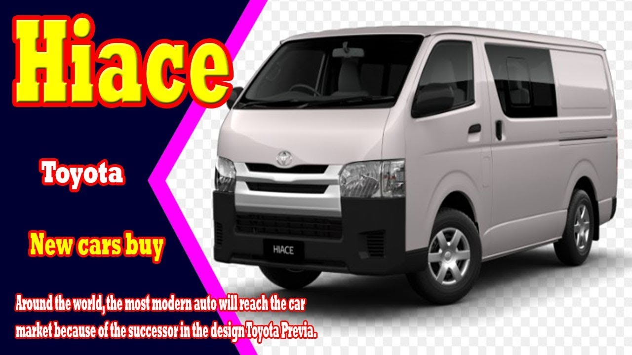 Best images of New Model 2019 TOYOTA Hiace White Colour  - Cars