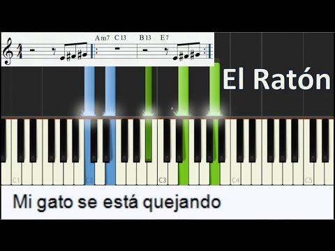 Como tocar El raton - Piano salsa Tutorial - Cheo
