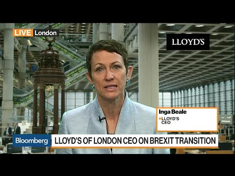 Lloyd's CEO Says We're Seeing the Impact of Climate Change