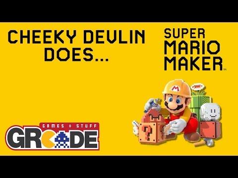 Cheeky Devlin Does Super Mario Maker - 03/11/12