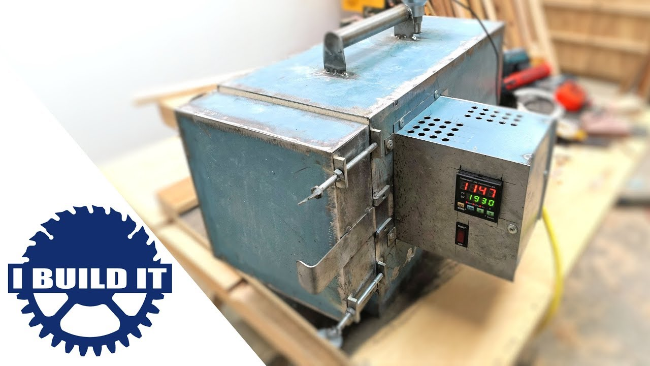 How To Make A Heat Treatment Oven - End