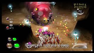 Pikmin 2 Boss: Empress Bulbax (hole of beasts)