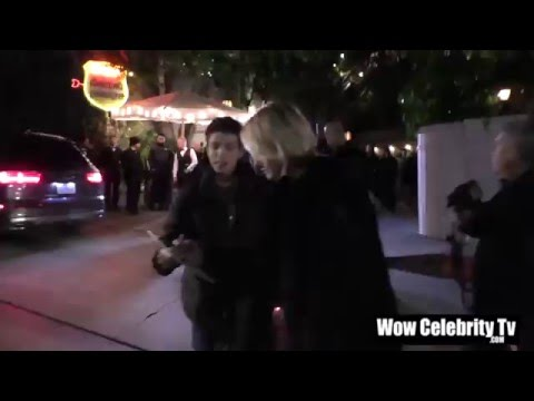 Amber Valletta spotted at Chateau Marmont in Hollywood