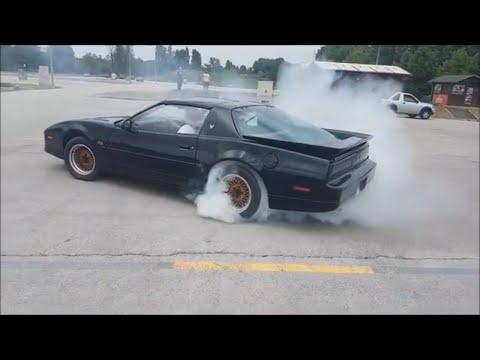 88 Trans Am GTA Burnout & Donuts + Slow Motion Burnout