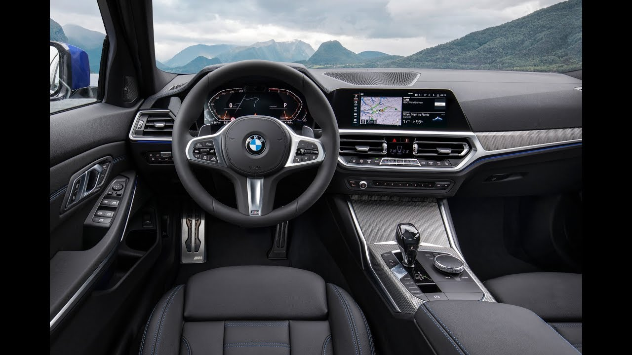 bmw 3 2019 das neue cockpit youtube. Black Bedroom Furniture Sets. Home Design Ideas