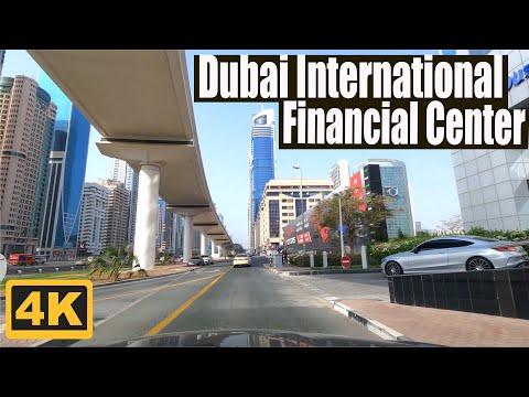 ⁴ᴷ⁶⁰ Driving around DIFC (Dubai International Financial Cent