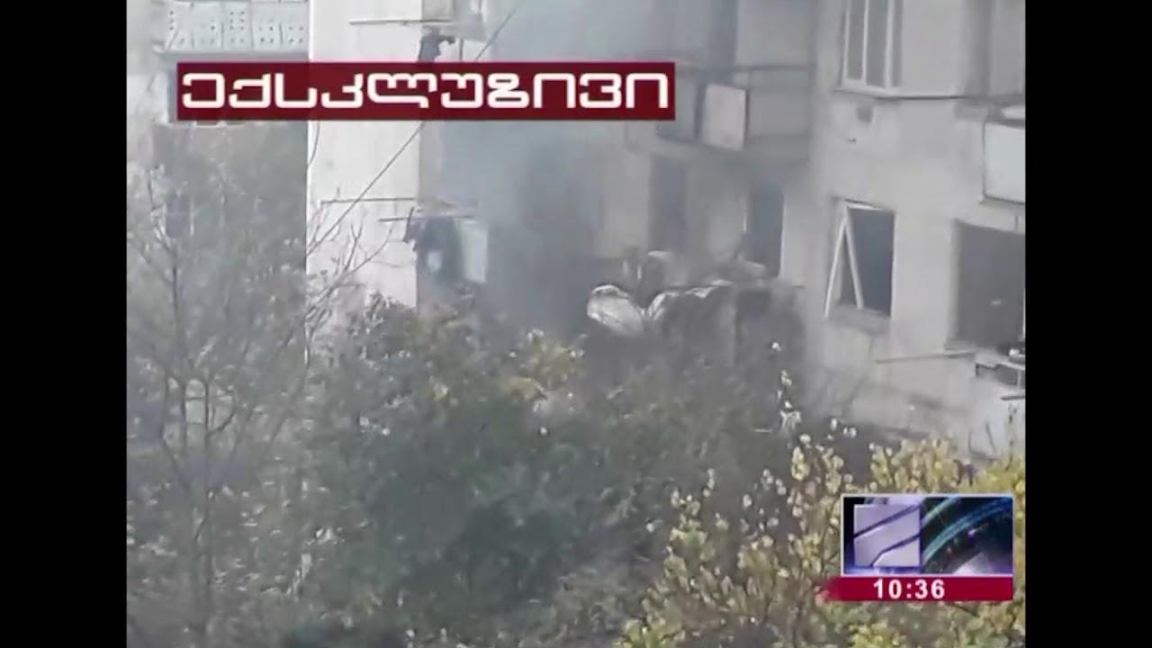 თბილისში სპეცოპერაციის ადგილას სროლის და ძლიერი აფეთქებების ხმა ისმის