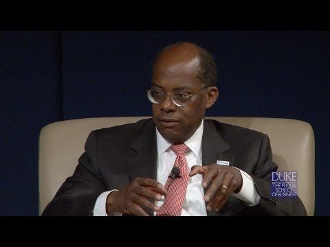 TIAA CEO Roger Ferguson Speaks at Duke