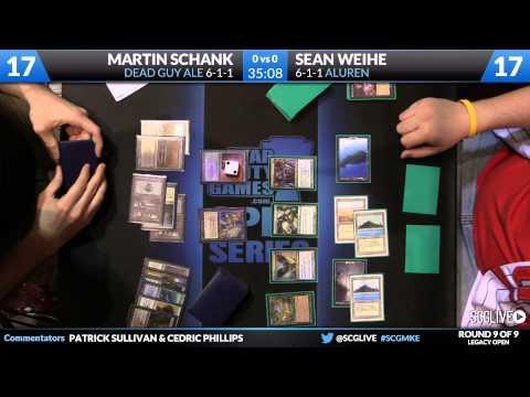 SCGMKE - Legacy - Round 9 - Martin Schank vs Sean Weihe