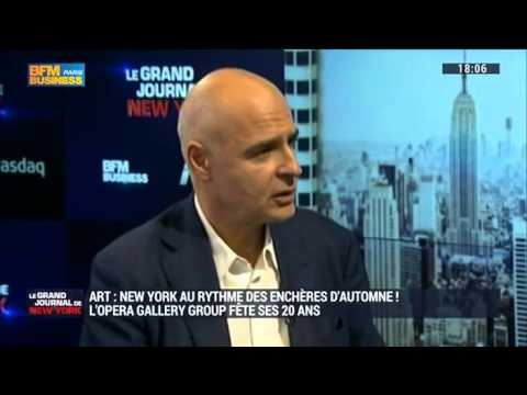"Interview - Opera Gallery's Chairman Gilles Dyan for BFM Business ""Le Grand Journal de New York"""