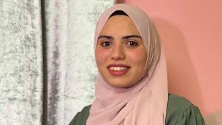 الطالبة رنا مصطفى شحرور من بلعا  طولكرم    الحاصلة على معدل 99.4 الفرع الأدبي