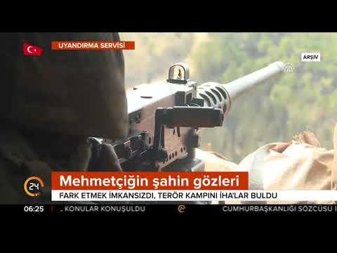 Batman'da PKK/PYD kampı görüntülendi (Yerli İHA görüntüleri)