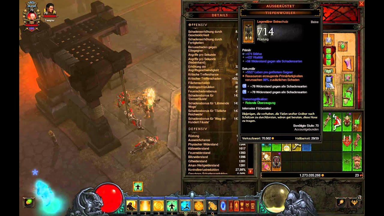 Diablo  Monk Build