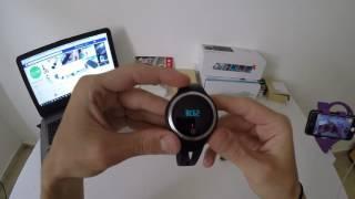 e07 smart watch wrist band unboxing and review   فتح صندوق ومراجعة ساعة الذكية إي07