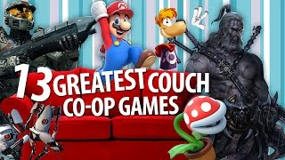 13 Greatest Couch Co-Op Games