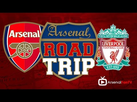 Road Trip To The Emirates - Arsenal v Liverool