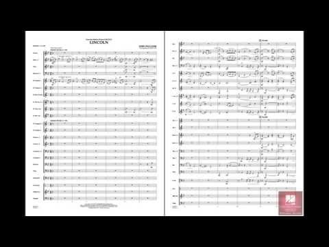Lincoln by John Williams/arr. Jay Bocook