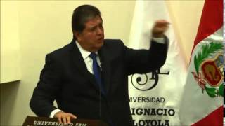 """Alan García - """"El futuro después de La Haya: La Alianza del Pacífico"""""""