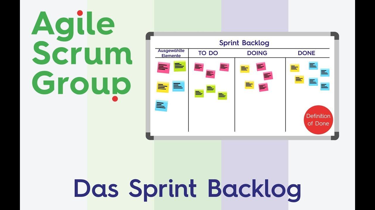 Der Sprint Backlog Was Sie Daruber Wissen Sollten Agile Scrum Group