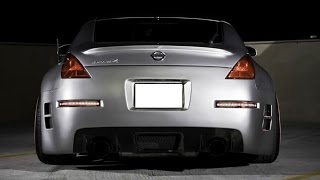 iJDMTOY All-In-One Nissan 350Z LED Turn Signal, Backup Reverse Light, Brake Light, and Tail Light