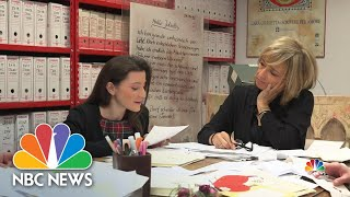 Letters To Juliet: Italian Town Answers Thousands of Hopeless Romantics   NBC Nightly News
