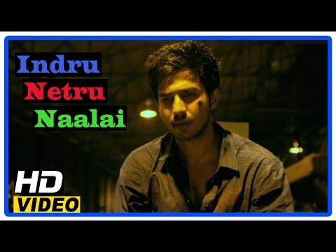 Indru Netru Naalai Tamil Movie | Scenes | Vishnu Reverses The Accident Of Past | Karunakaran