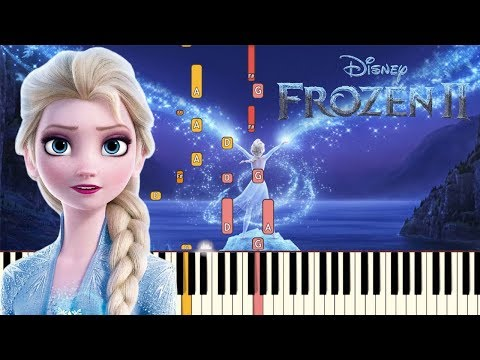 Show Yourself (Idina Menzel) - Frozen 2 | Piano Tutorial (Synthesia)