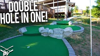 IF YOU MAKE THAT, IT WOULD BE LIKE A DOUBLE MINI GOLF HOLE IN ONE!