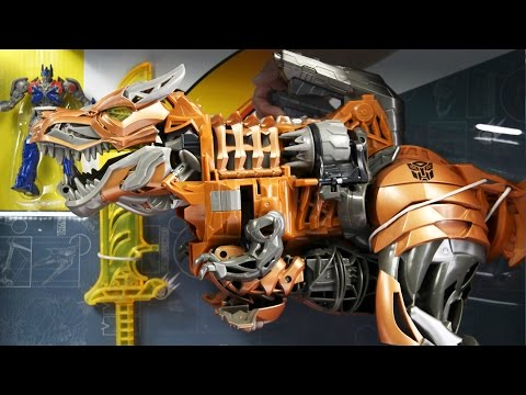 Stomp & Chomp Grimlock / Gigantyczny Grimlock - Transformers 4 - Hasbro - A6145 - Recenzja