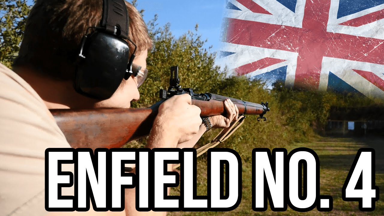 Britain's Lee Enfield No 4 Rifle - History By Cammack