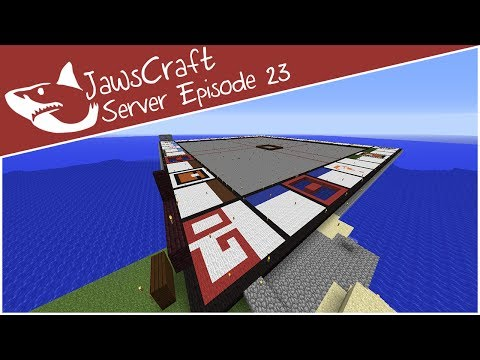 Minecraft || Trees and Monopolies || JawsCraft Server - Episode 23