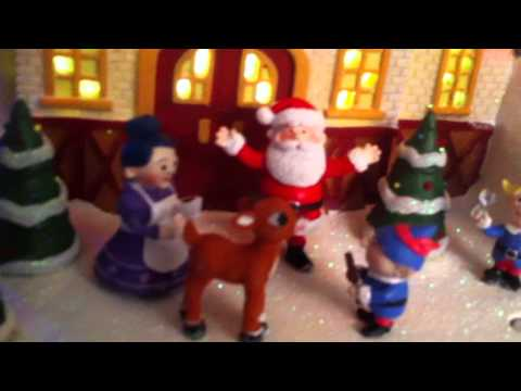 Rudolph Musical Christmas Village - #1