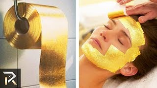 10 Ridiculous Things Made Out Of Real GOLD
