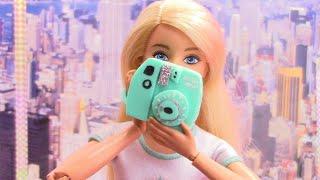 3 DIY Miniatures for Barbie / CRAFTS DOLLS STUFF FOR BARBIE EASSY ! miniature supermarket basket