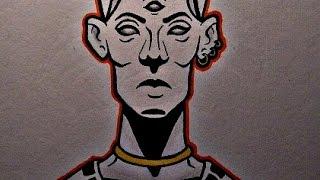 How to draw a Pharaoh Head
